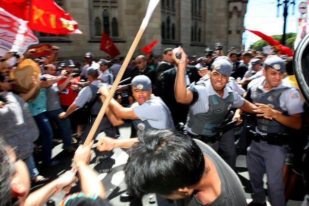 Nota pública à perseguição da PM aos profissionais atuantes na defesa de direitos
