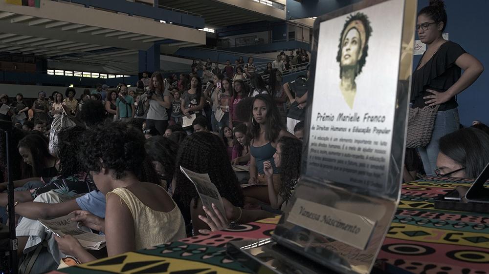 foto uneafro 10 anos prêmio Marielle Franco