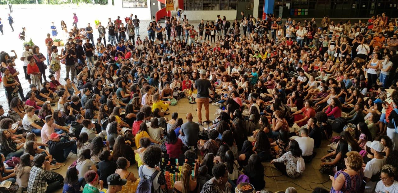Uneafro Brasil reúne mil jovens em comemoração de 10 anos na USP