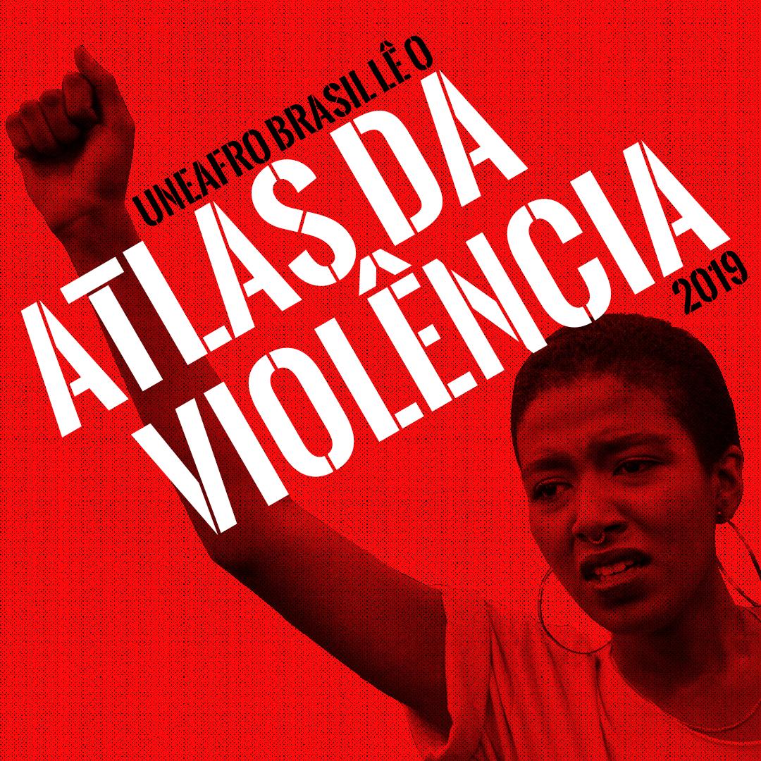 uneafro lê o atlas da violência