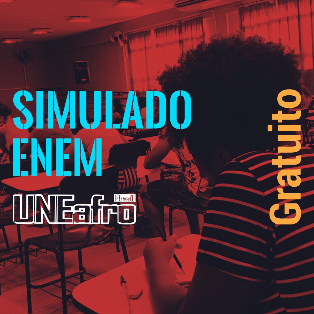 Uneafro prepara simulado do ENEM aberto para moradores de SP e RJ