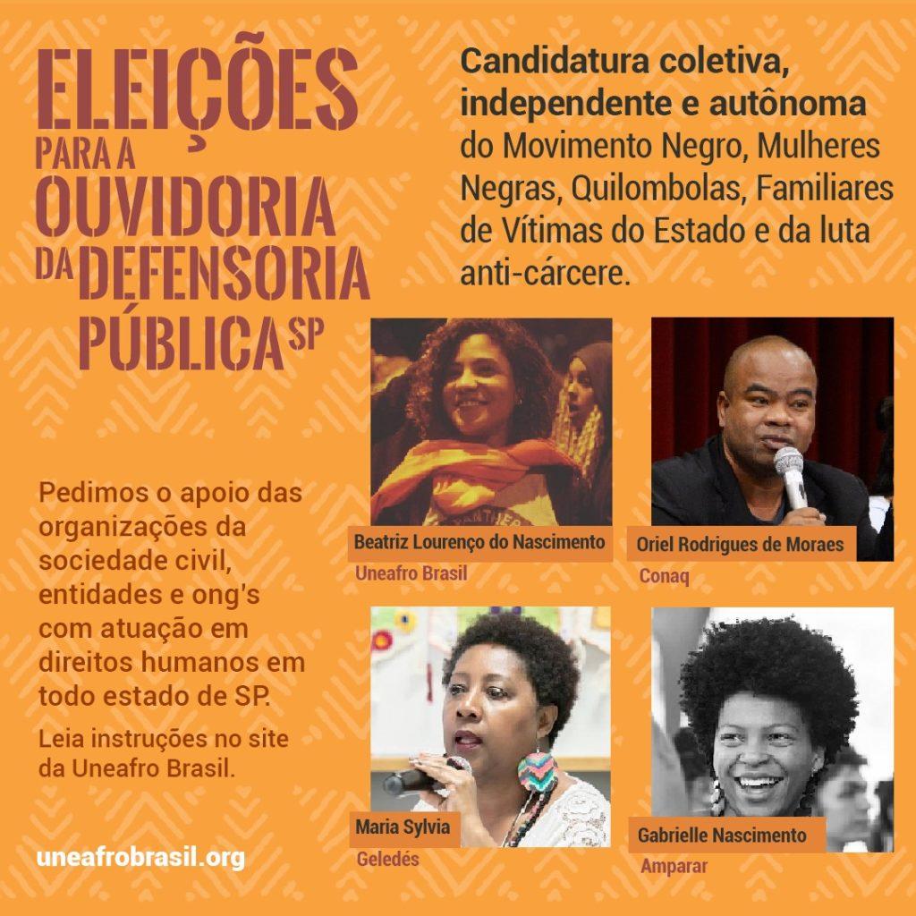 Confira as propostas do plano de trabalho para a Ouvidoria Geral da Defensoria Pública do Estado de São Paulo