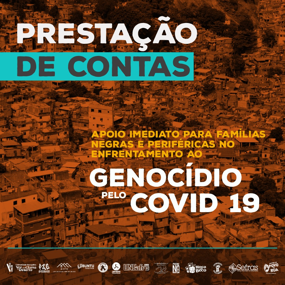 Prestação de contas da 2ª etapa da campanha de apoio às famílias – Covid-19