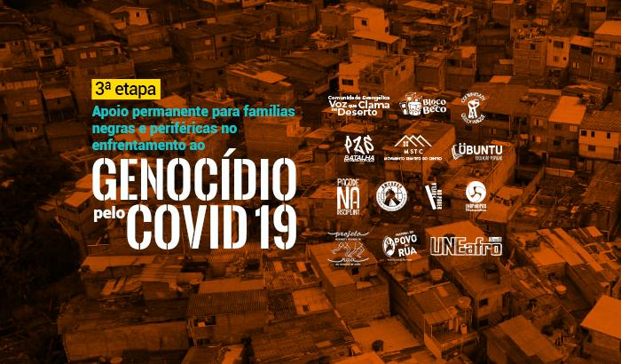 Apoio permanente para famílias atingidas pelo Covid 19 é meta da 3ª etapa da campanha