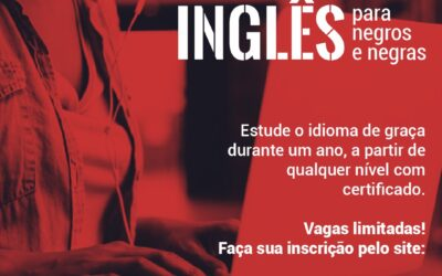 Uneafro Brasil e Pearson oferecem vagas em curso de inglês para estudantes do cursinho