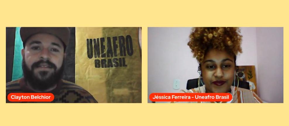 Conexão de diferentes povos marca encontro online sobre meio ambiente da Uneafro Brasil