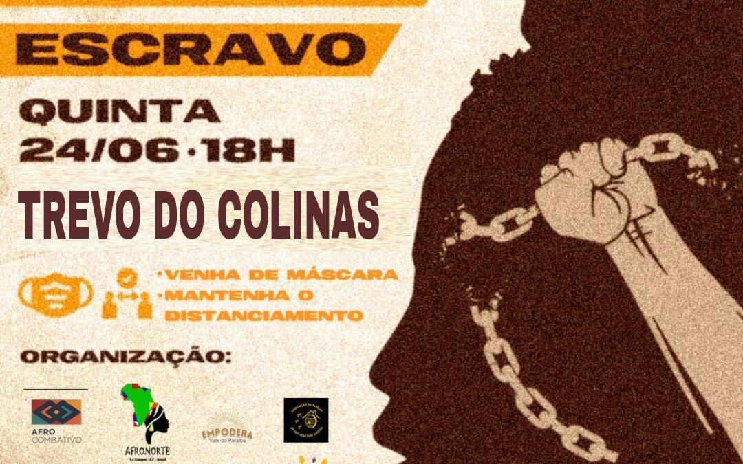 Ato do movimento negro cobra resposta das autoridades sobre escravidão em São José dos Campos