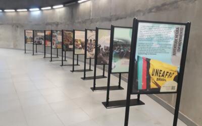 UNEafro celebra 12 anos de luta com mostra nas estações Adolfo Pinheiro e AACD-Servidor, na Linha 5-Lilás de metrô