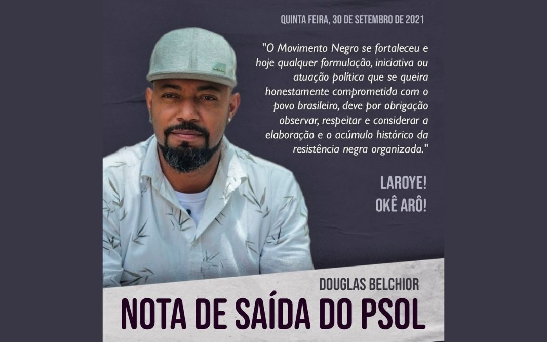 Nota de saída do PSOL