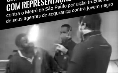Organizações do movimento negro denunciam caso de racismo contra família no Metrô